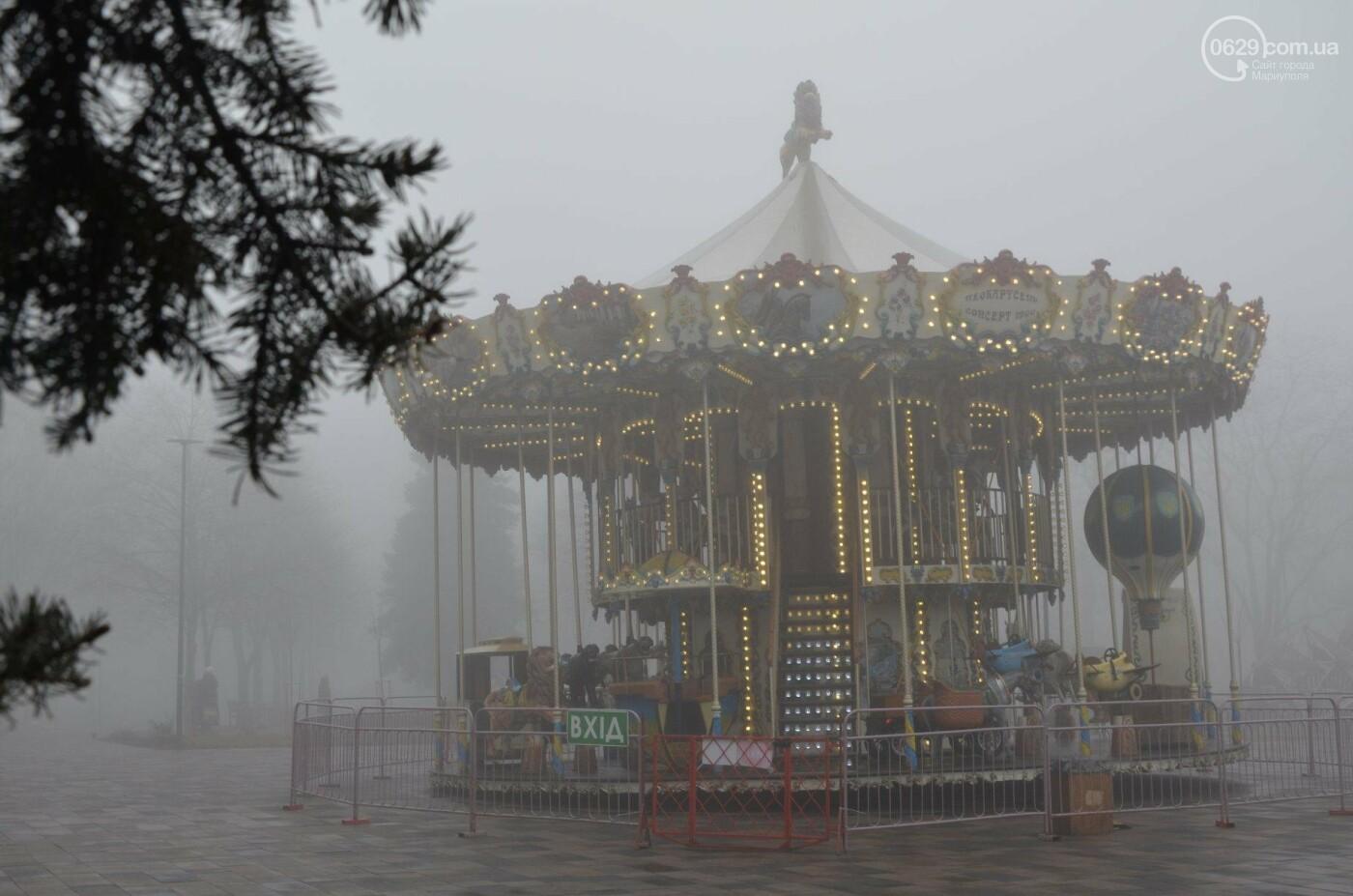 Мариуполь в тумане, усиливаются неблагоприятные метеорологические условия, - ФОТО, фото-7