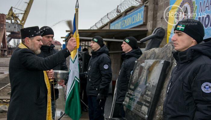В Мариуполе открыли памятник морякам-пограничникам, погибшим в Азовском море, - ФОТО, фото-6
