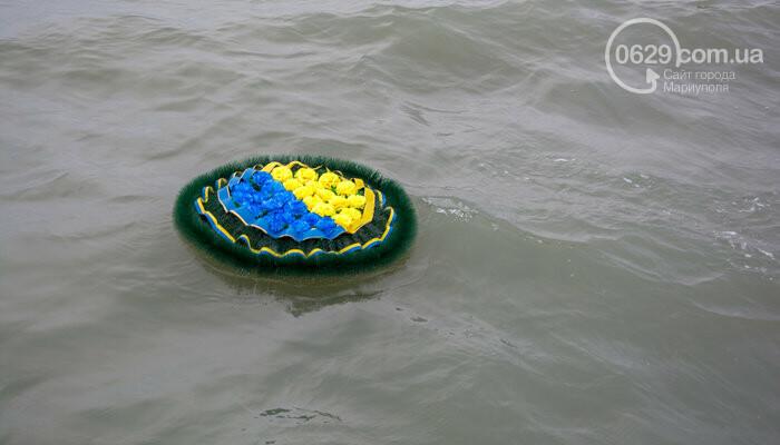 В Мариуполе открыли памятник морякам-пограничникам, погибшим в Азовском море, - ФОТО, фото-8