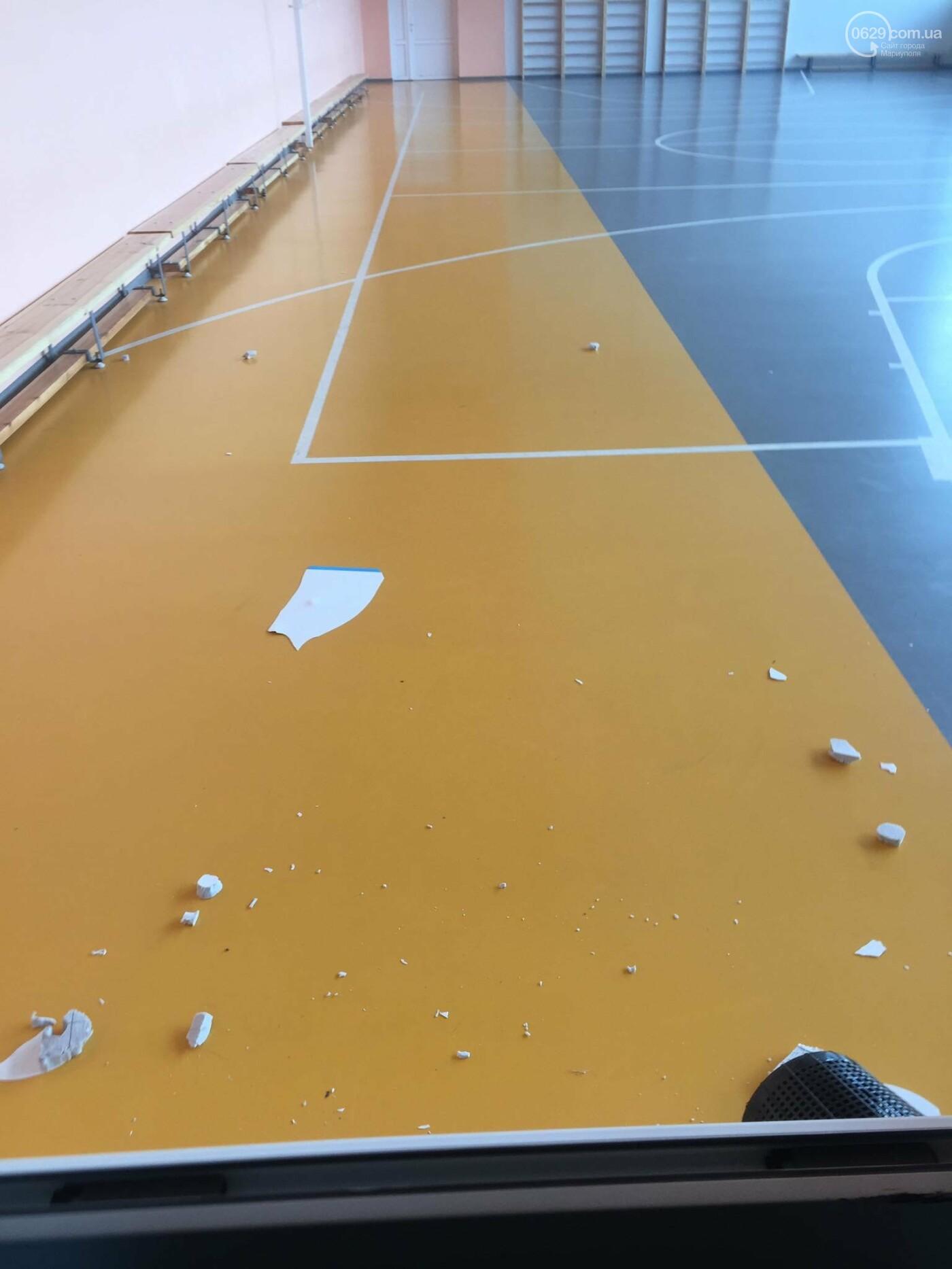 В  Мариуполе неадекватный хулиган разгромил школу, - ДОПОЛНЕНО, ФОТО, фото-3