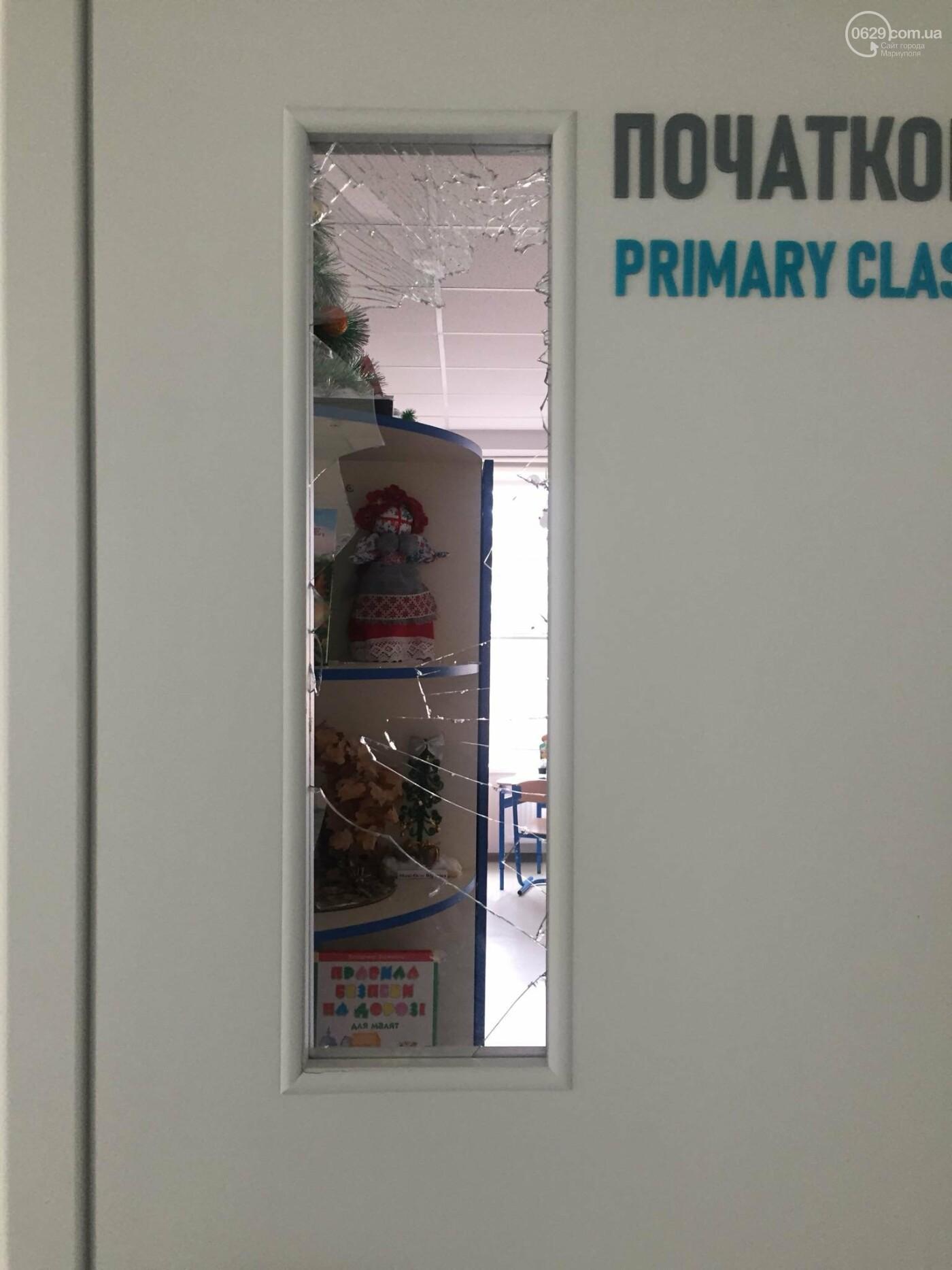 В  Мариуполе неадекватный хулиган разгромил школу, - ДОПОЛНЕНО, ФОТО, фото-2