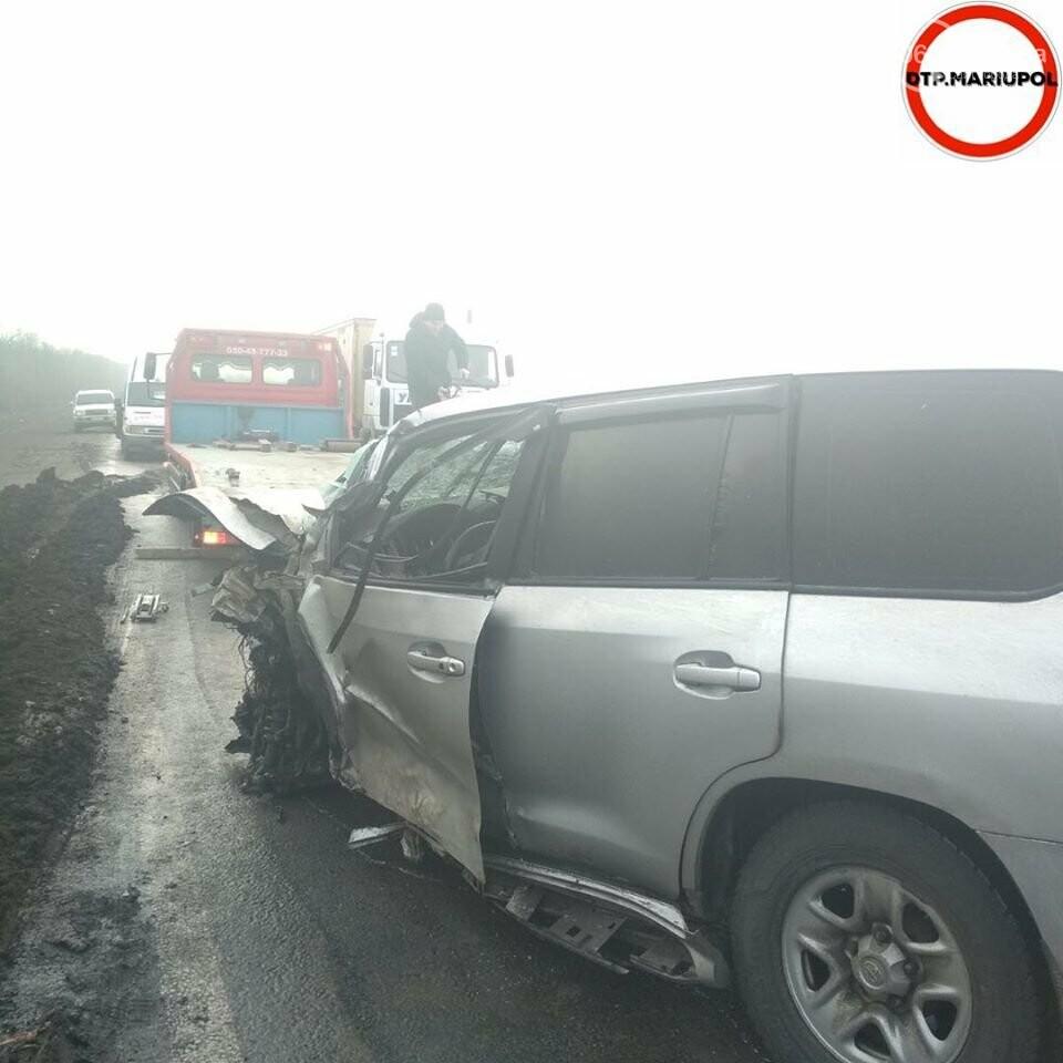 На трассе Мариуполь- Запорожье произошло ДТП, есть пострадавшие, - ФОТО, фото-7