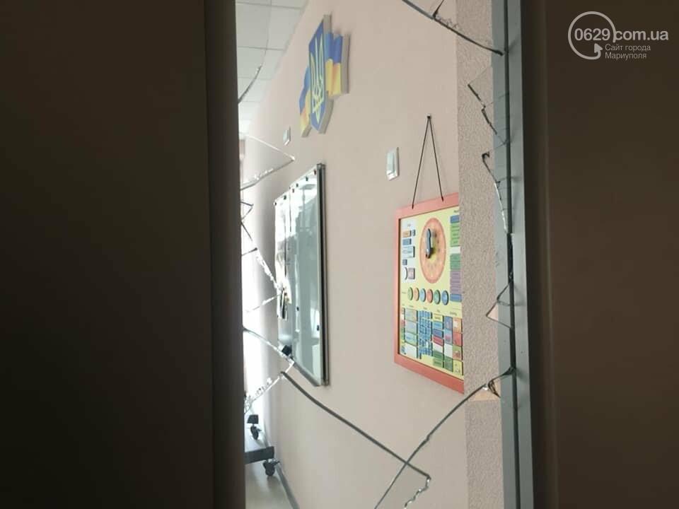 В  Мариуполе неадекватный хулиган разгромил школу, - ДОПОЛНЕНО, ФОТО, фото-10