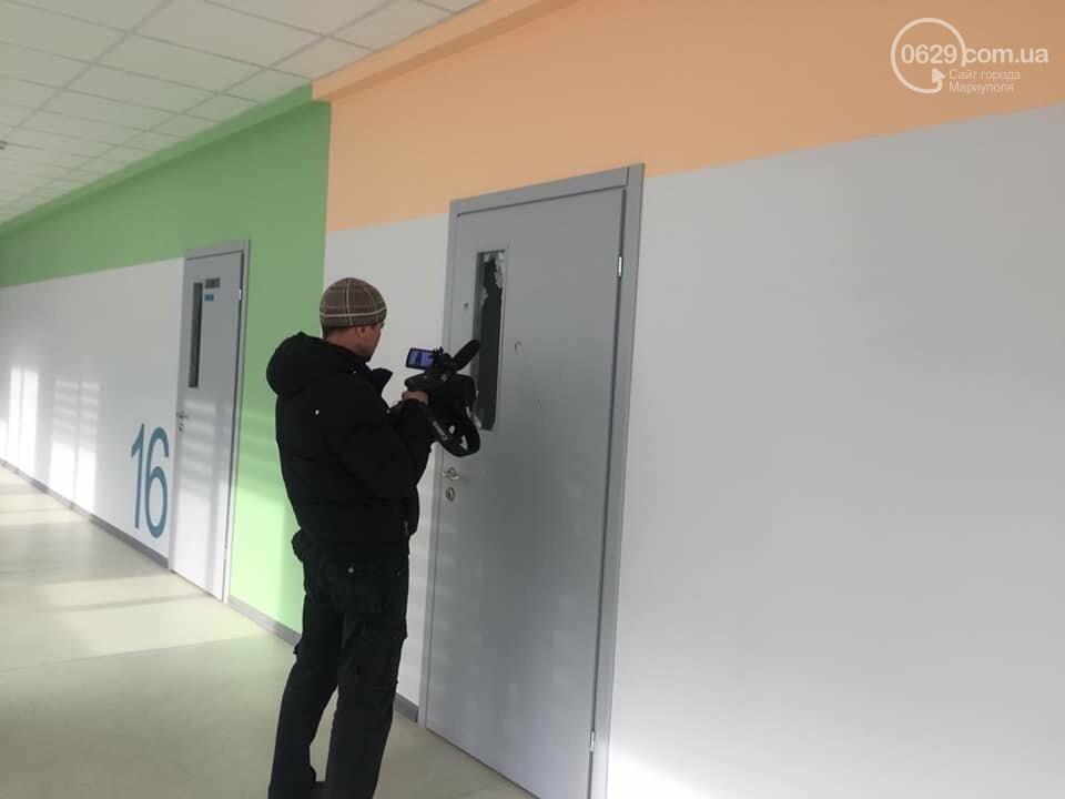 В  Мариуполе неадекватный хулиган разгромил школу, - ДОПОЛНЕНО, ФОТО, фото-8