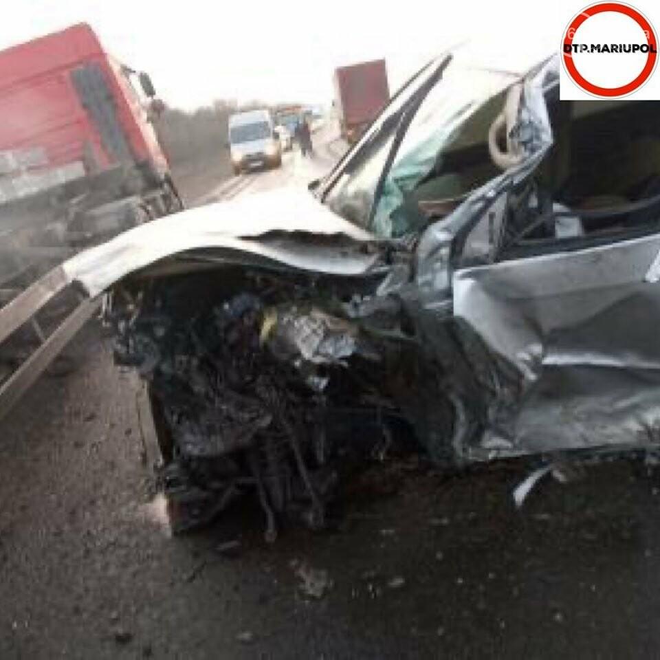 На трассе Мариуполь- Запорожье произошло ДТП, есть пострадавшие, - ФОТО, фото-11
