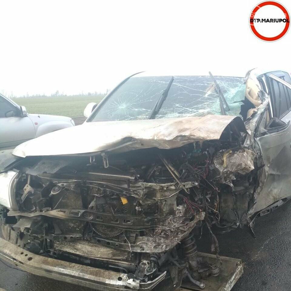 На трассе Мариуполь- Запорожье произошло ДТП, есть пострадавшие, - ФОТО, фото-4