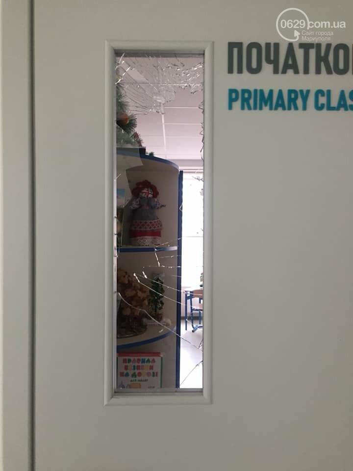 В  Мариуполе неадекватный хулиган разгромил школу, - ДОПОЛНЕНО, ФОТО, фото-5