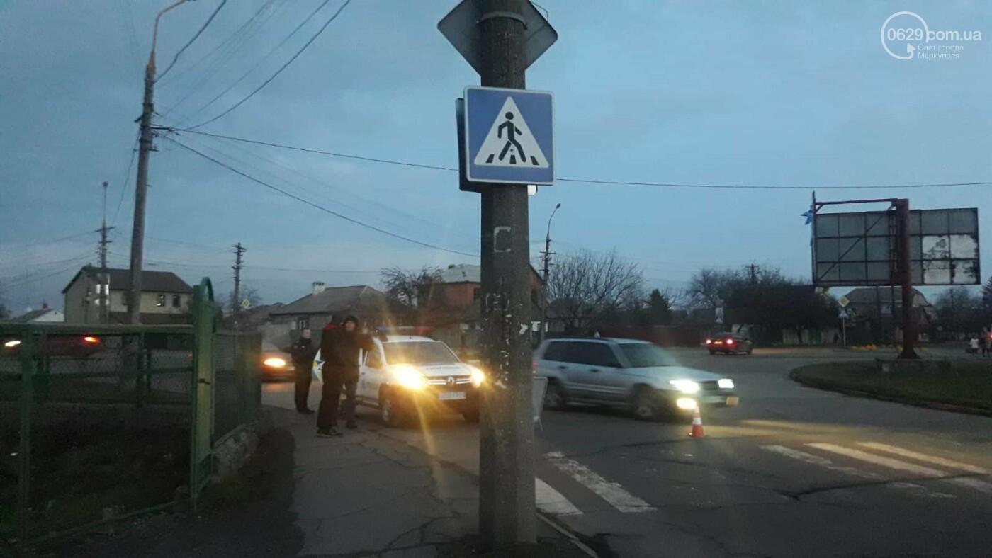 В Мариуполе сбили пешехода. Женщина в тяжелейшем состоянии, - ФОТО, фото-5