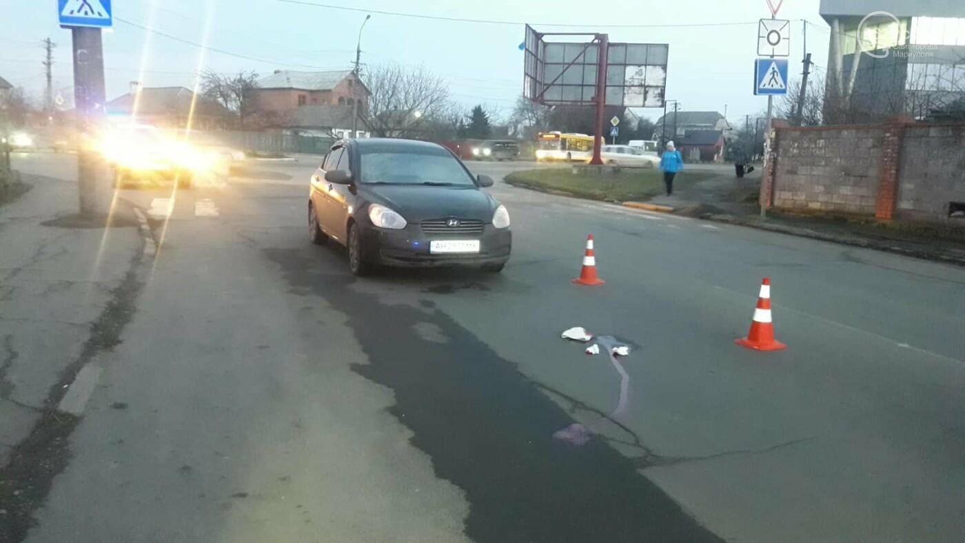 В Мариуполе сбили пешехода. Женщина в тяжелейшем состоянии, - ФОТО, фото-3