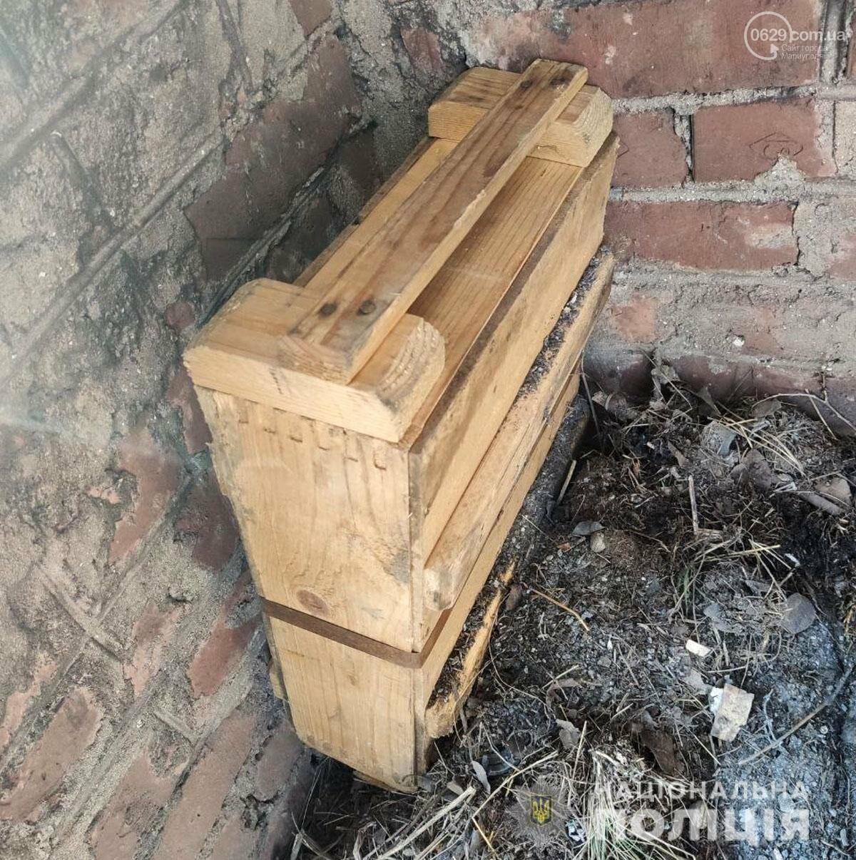 На одной из улиц Мариуполя нашли ящик с боеприпасами, - ФОТО, фото-2