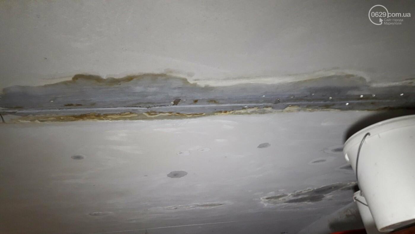 Непогода! В Мариуполе затопило жителей многоэтажки, - ФОТО, фото-2