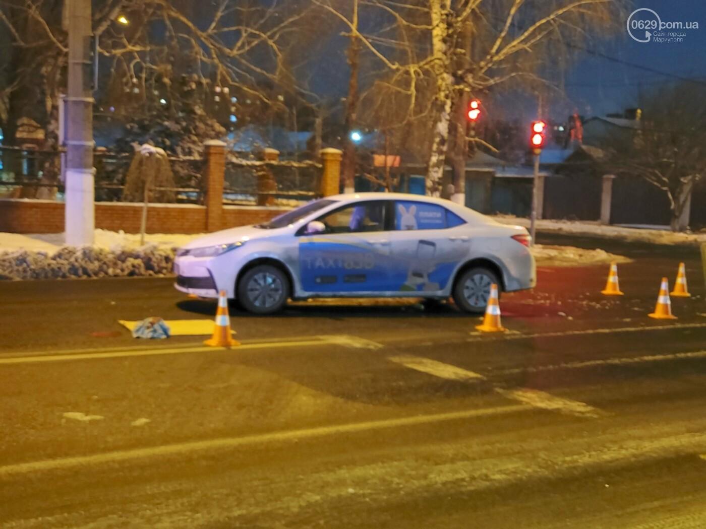"""В Мариуполе """"Тойота"""" сбила женщину, - ФОТО, фото-1"""