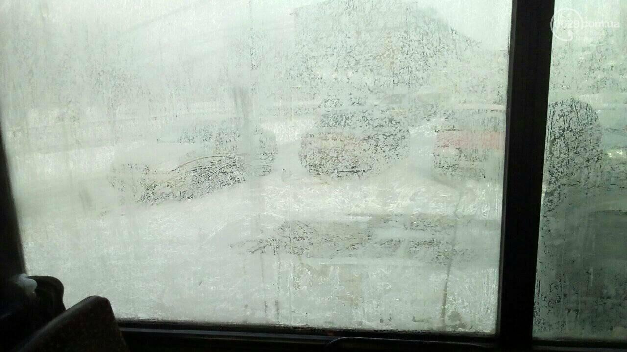 Работники ММК им. Ильича закоченели в обледеневшем автобусе по дороге домой, - ФОТО, фото-3
