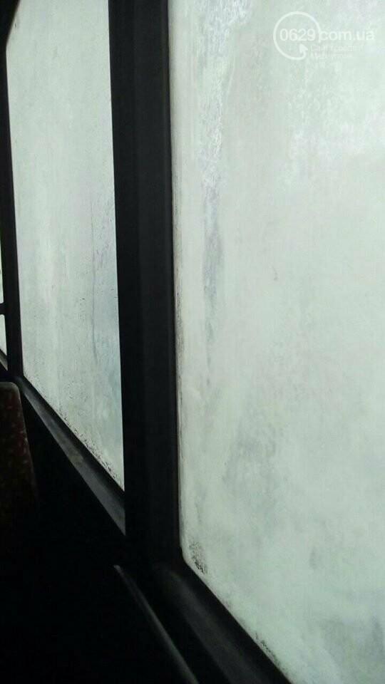 Работники ММК им. Ильича закоченели в обледеневшем автобусе по дороге домой, - ФОТО, фото-2