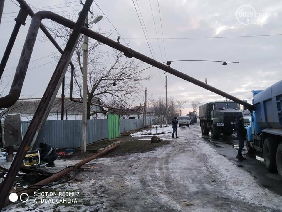 Под Мариуполем восстанавливают перебитый газопровод,- ФОТО, фото-3