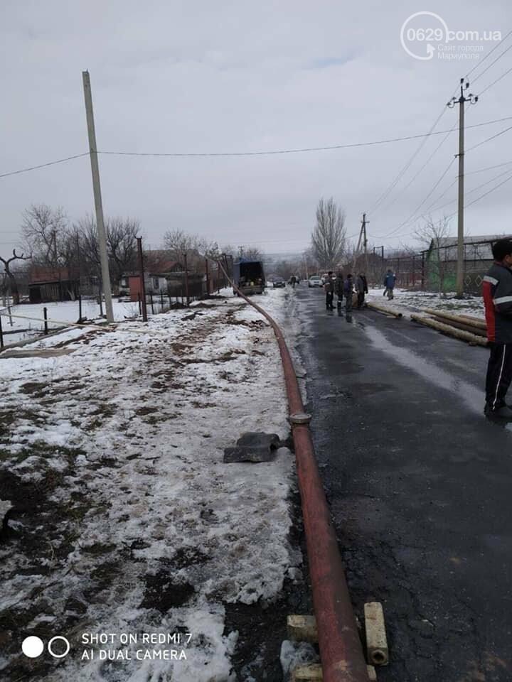 Под Мариуполем восстанавливают перебитый газопровод,- ФОТО, фото-2