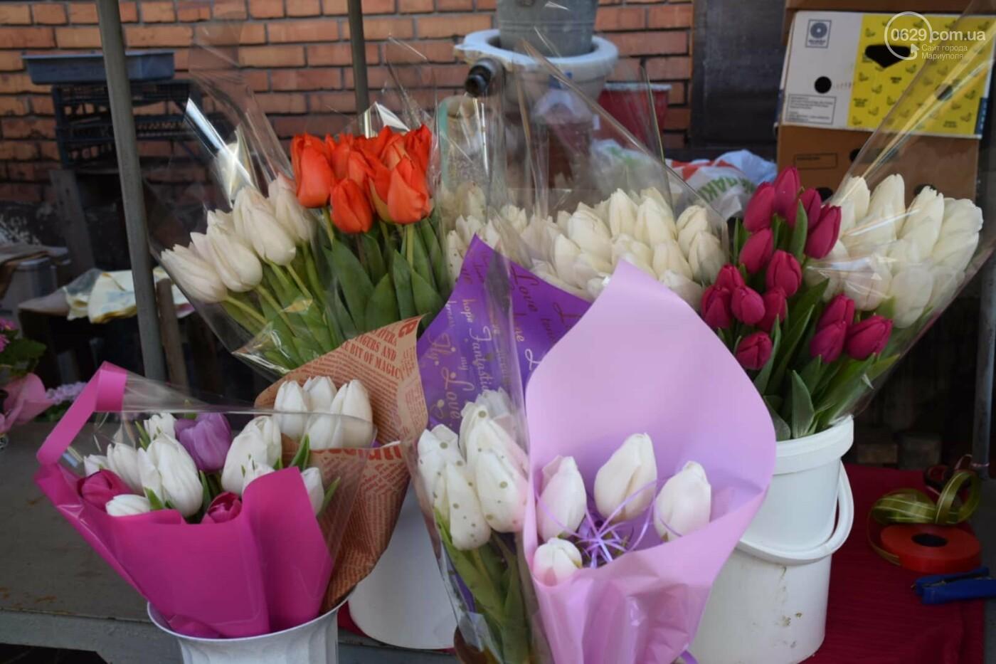 День Святого Валентина в Мариуполе: цветы, шары и мужчины-романтики, - ФОТОРЕПОРТАЖ, фото-2