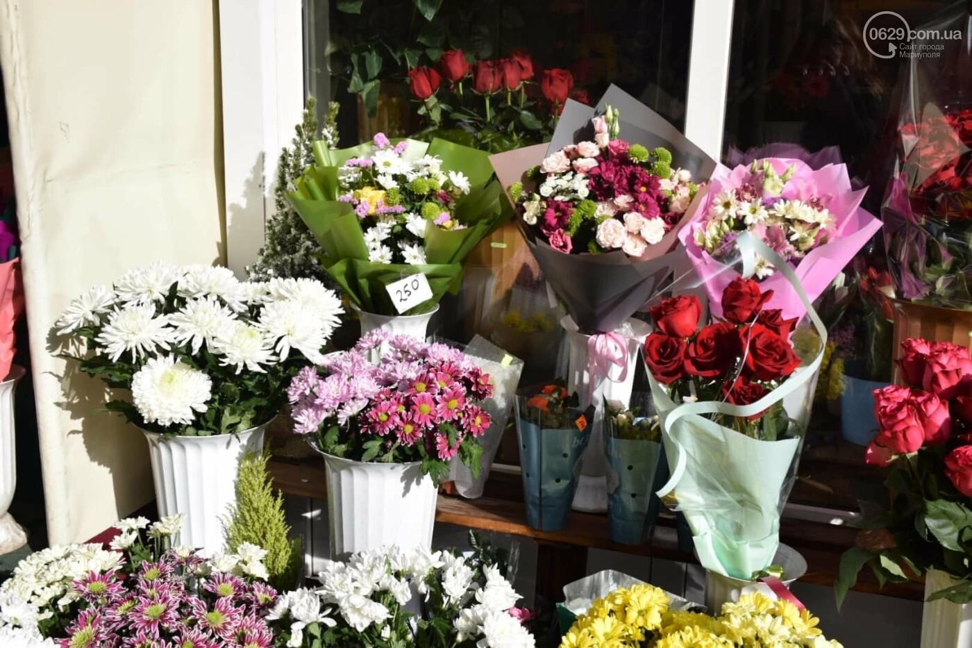 День Святого Валентина в Мариуполе: цветы, шары и мужчины-романтики, - ФОТОРЕПОРТАЖ, фото-6