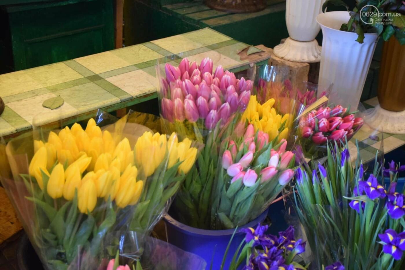 День Святого Валентина в Мариуполе: цветы, шары и мужчины-романтики, - ФОТОРЕПОРТАЖ, фото-11