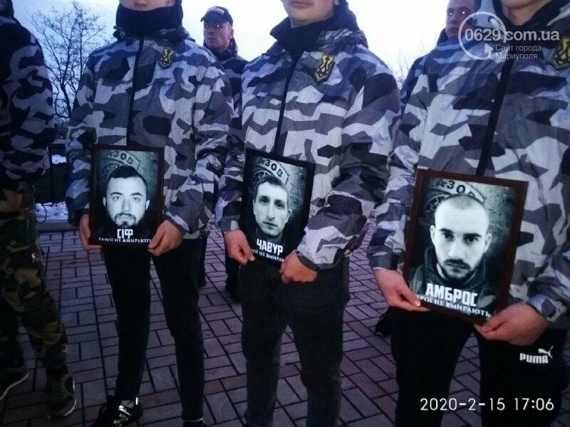 В Мариуполе почтили героев, погибших в боях за Широкино, - ФОТОРЕПОРТАЖ, фото-1