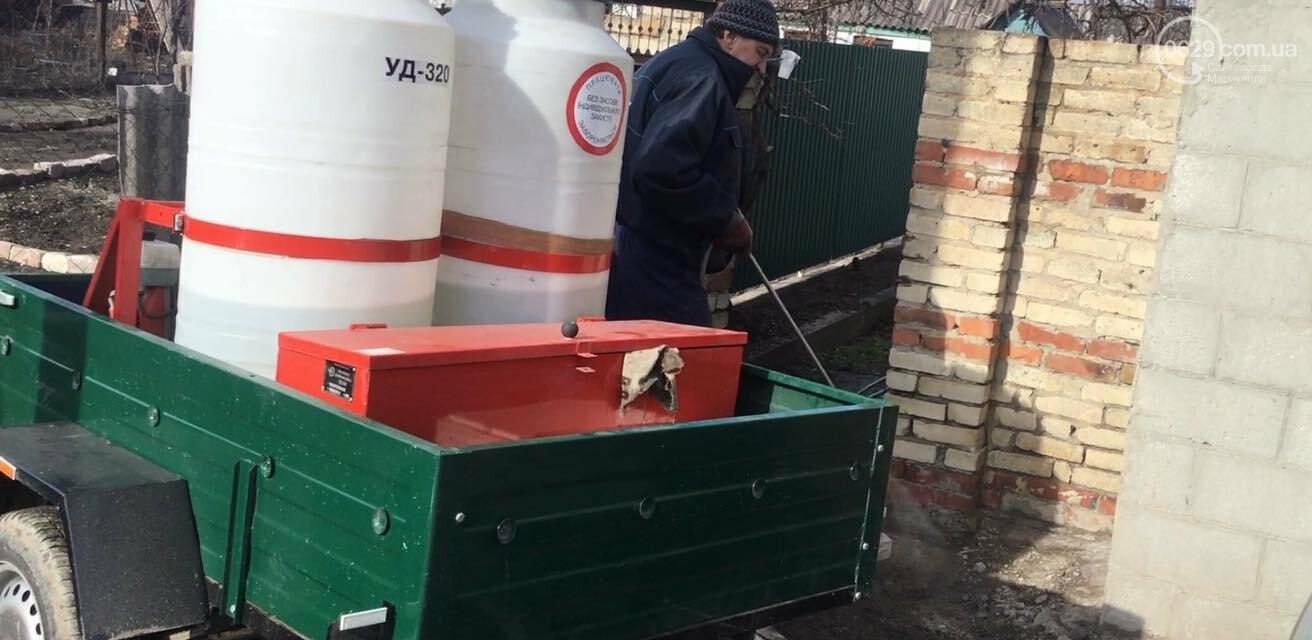 После потопа!  Как в Мариуполе борются с фекалиями на Новоселовке, - ФОТО,ВИДЕО, фото-1