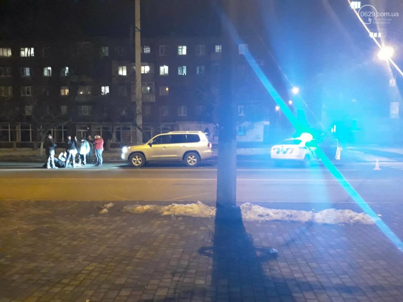 В Мариуполе внедорожник сбил женщину, - ФОТО, ВИДЕО, фото-1