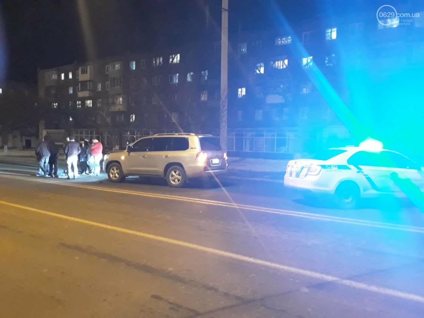 В Мариуполе внедорожник сбил женщину, - ФОТО, ВИДЕО, фото-2