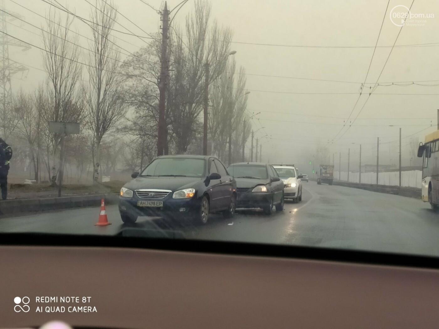 На улице Набережной авария спровоцировала затор, фото-1