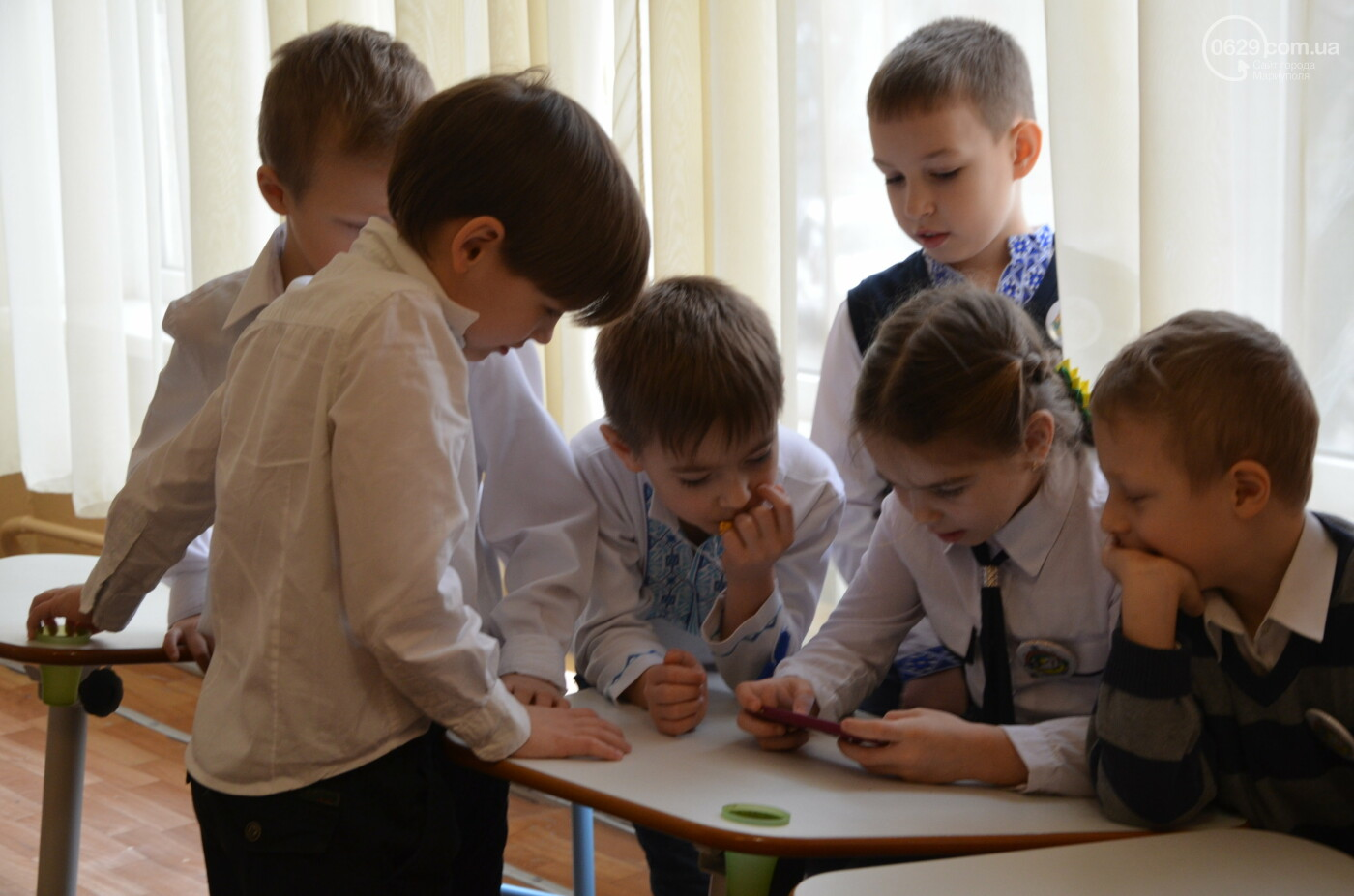 В мариупольской школе продемонстрировали, как работают с особенными детьми,- ФОТО, фото-2