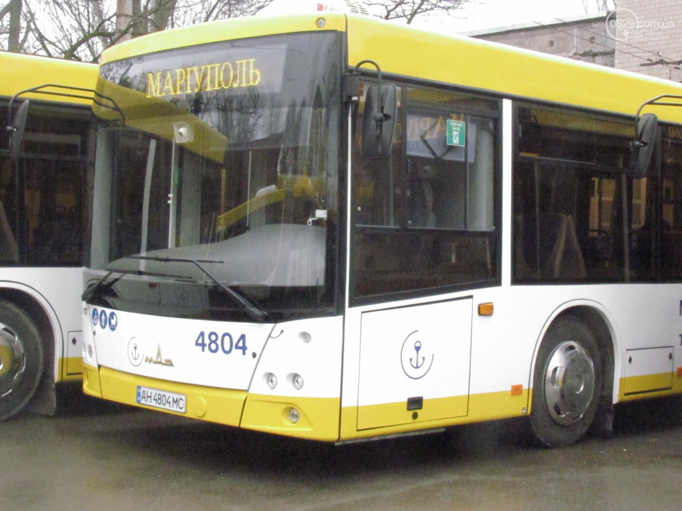"""На работу - на ""мерседесах!"" Как в Мариуполе обновляют транспорт, маршруты и депо, - ФОТОРЕПОРТАЖ, фото-2"