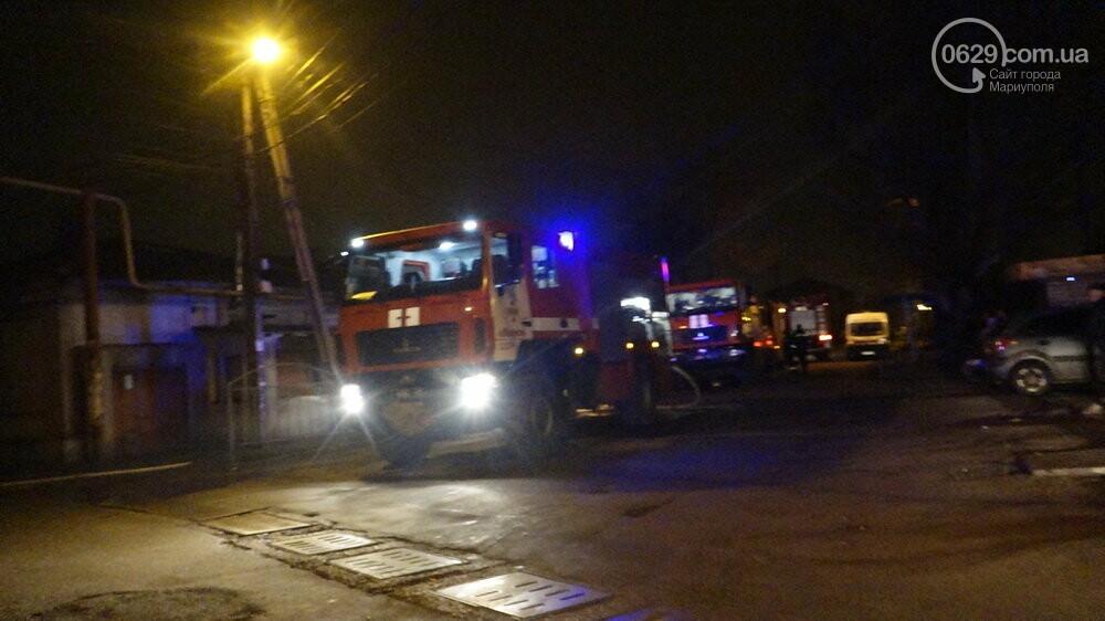 В Мариуполе на Слободке горел дом, - ФОТО, фото-4