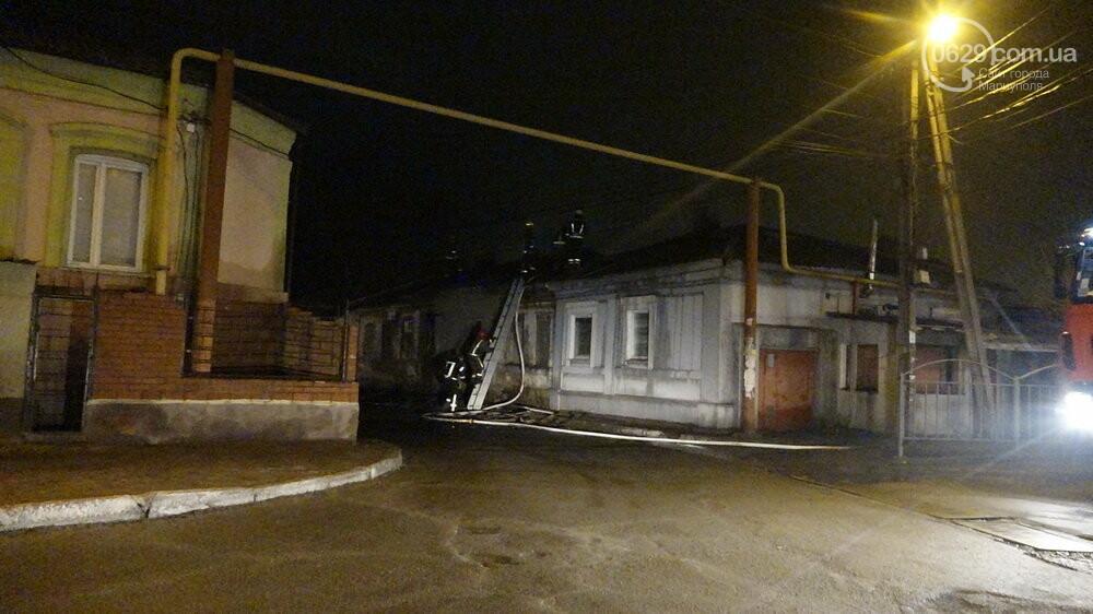 В Мариуполе на Слободке горел дом, - ФОТО, фото-5