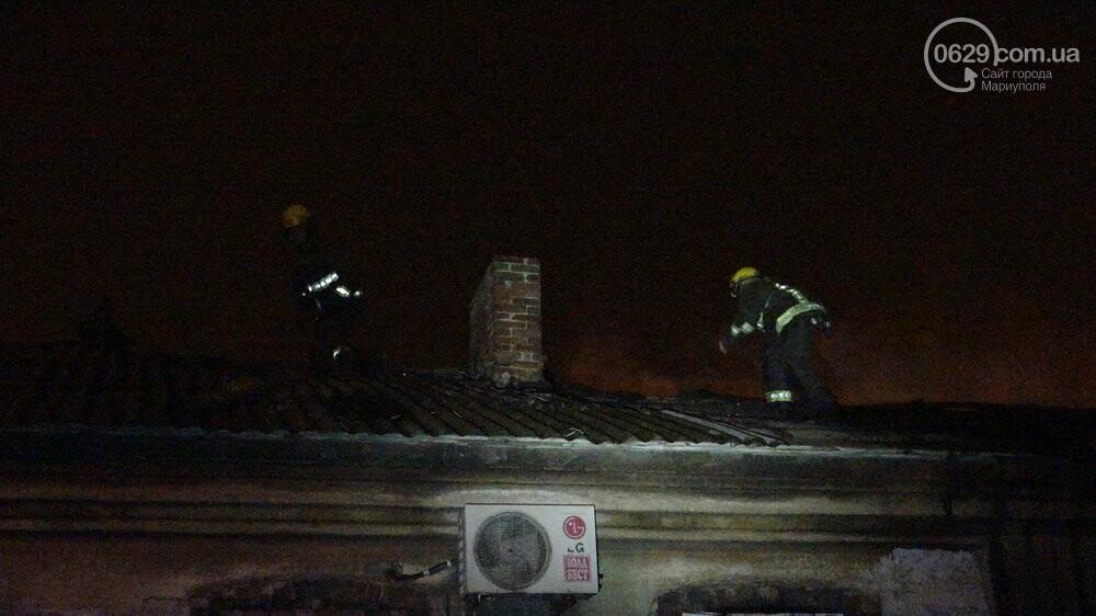 В Мариуполе на Слободке горел дом, - ФОТО, фото-9