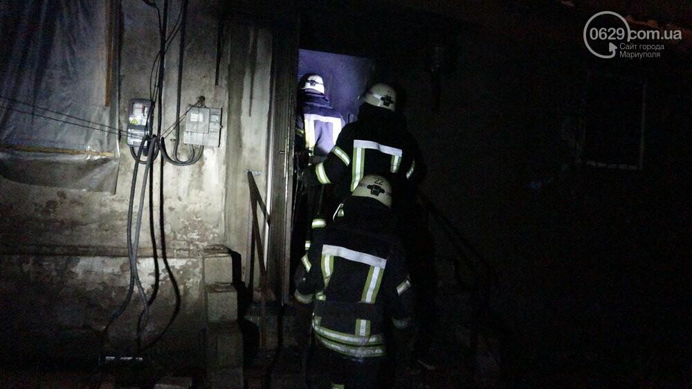 В Мариуполе на Слободке горел дом, - ФОТО, фото-18