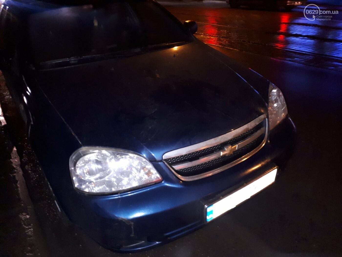 В Мариуполе на перекрестке Chevrolet сбил пешехода, - ФОТО, фото-1