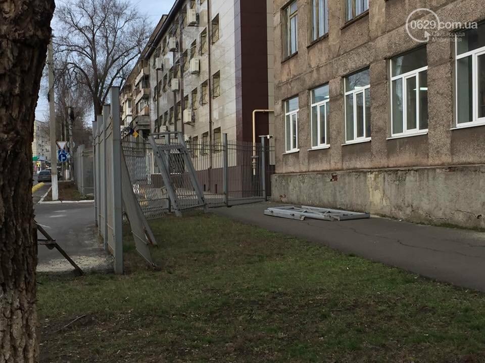 Улица Нильсена возле СБУ больше не перекрыта забором, - ФОТОФАКТ, фото-3