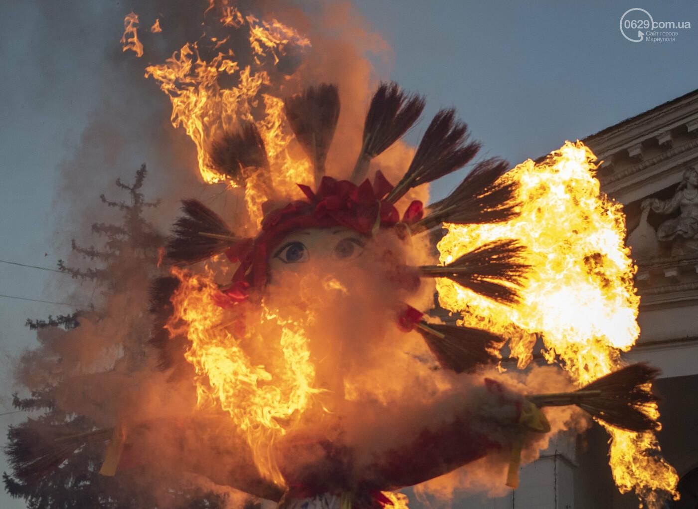 Магия огня, традиции и алкогольные шахматы. ФОТОРЕПОРТАЖ с празднования Масленицы в Мариуполе, фото-22