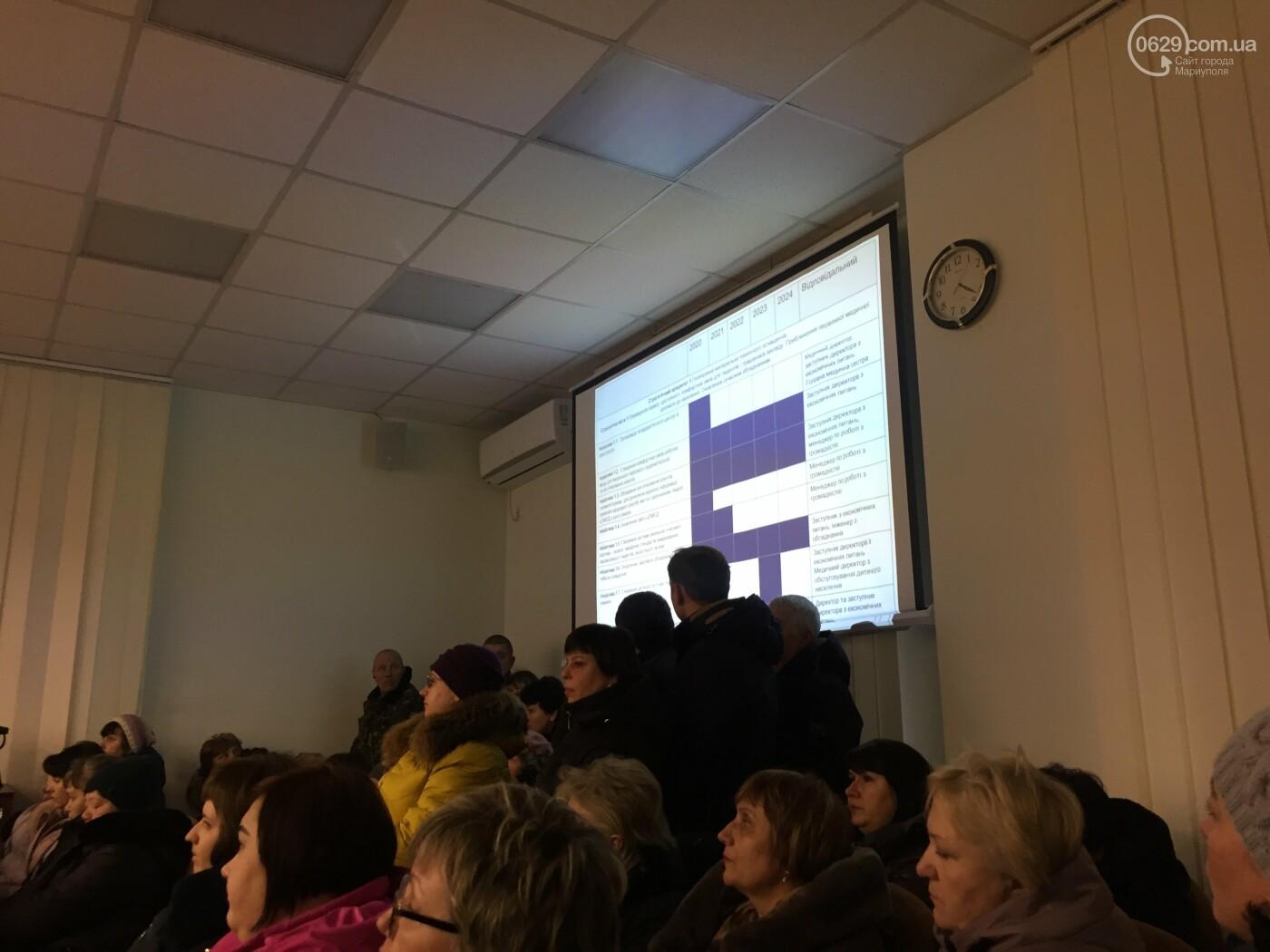 Макарова уходит? Как в Мариуполе выбирали заведующего поликлиникой №2, фото-6