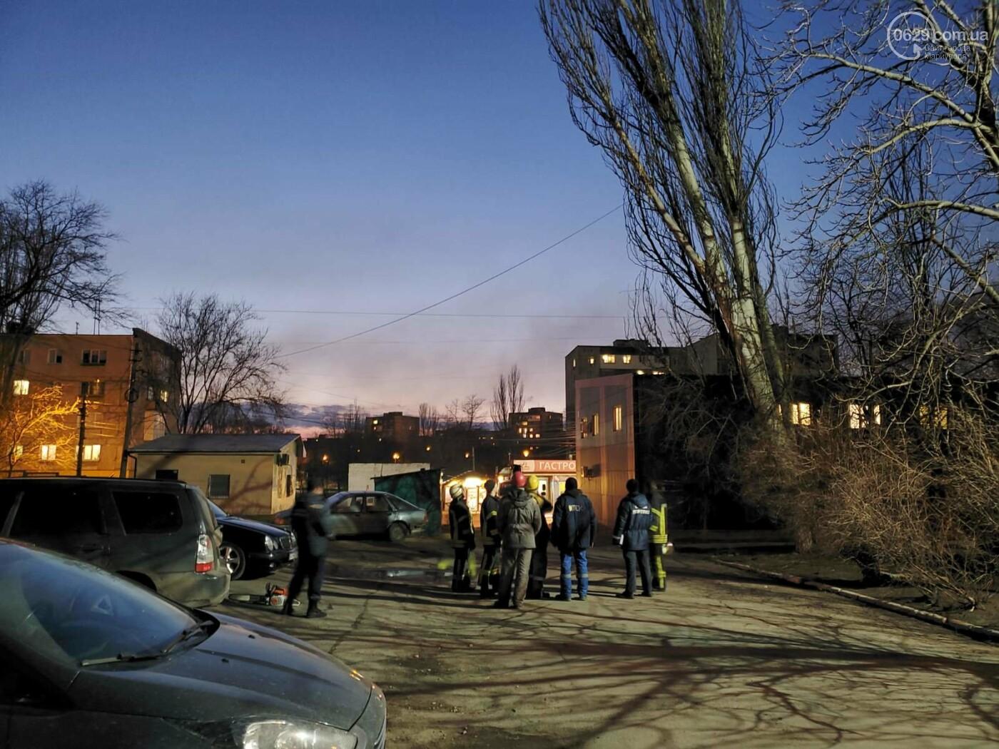 В Мариуполе спасатели убрали опасное дерево, - ФОТО, фото-2