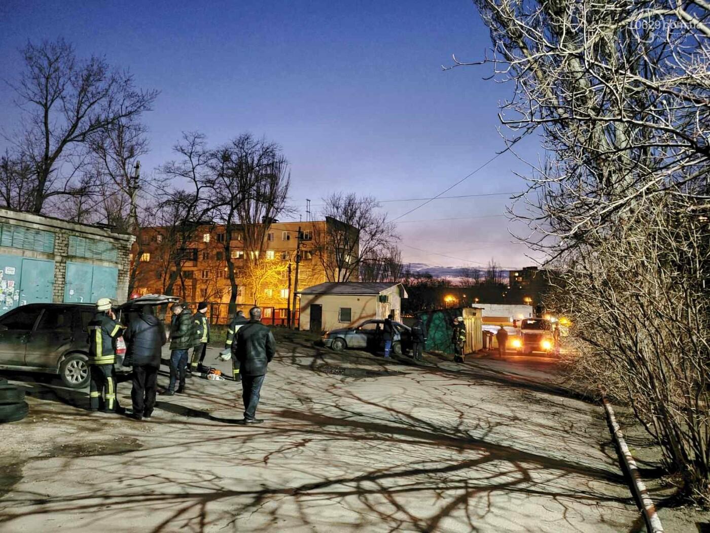 В Мариуполе спасатели убрали опасное дерево, - ФОТО, фото-5