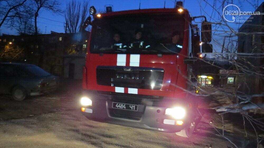 В Мариуполе спасатели убрали опасное дерево, - ФОТО, фото-8