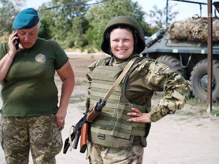 Женское лицо войны. Как морпех защищает Мариуполь и Украину, - ФОТО, фото-4