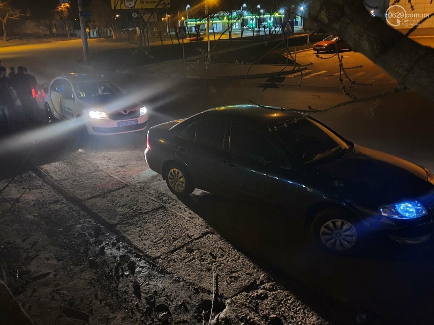 В Мариуполе Nissan сбил девушку на «зебре», - ФОТО, фото-1