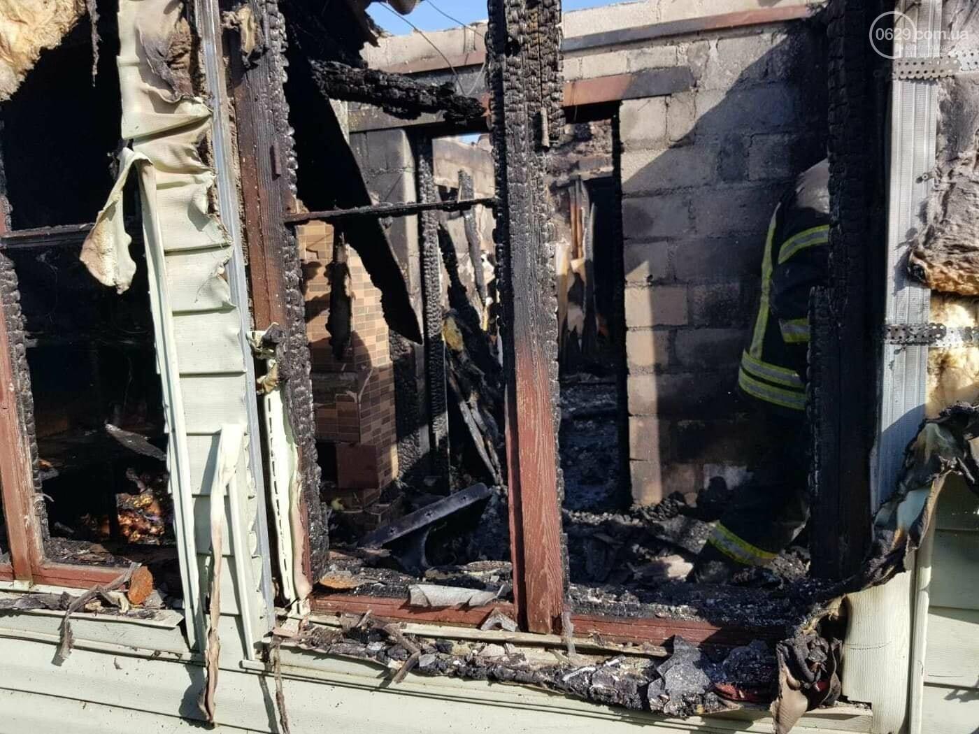 Под Мариуполем многодетная семья осталась без дома из-за пожара,  - ФОТО, фото-3