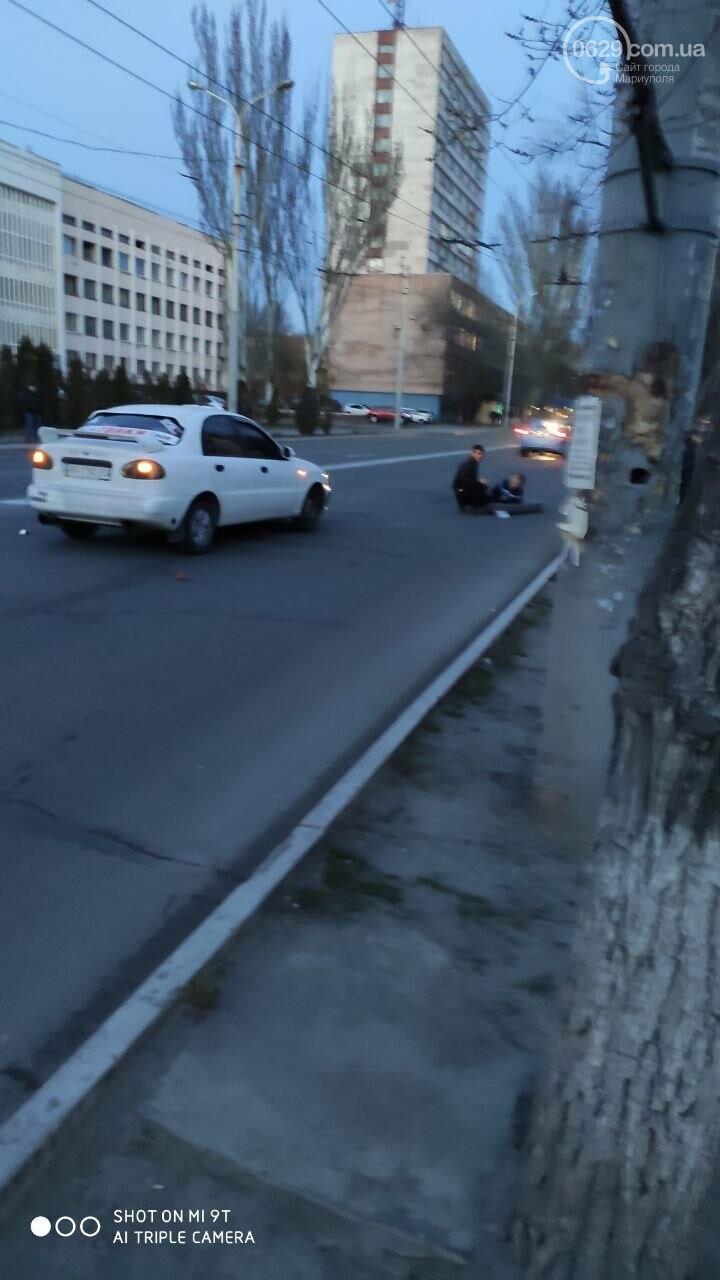 В центре Мариуполя на пешеходном переходе сбили женщину, - ФОТО, фото-2