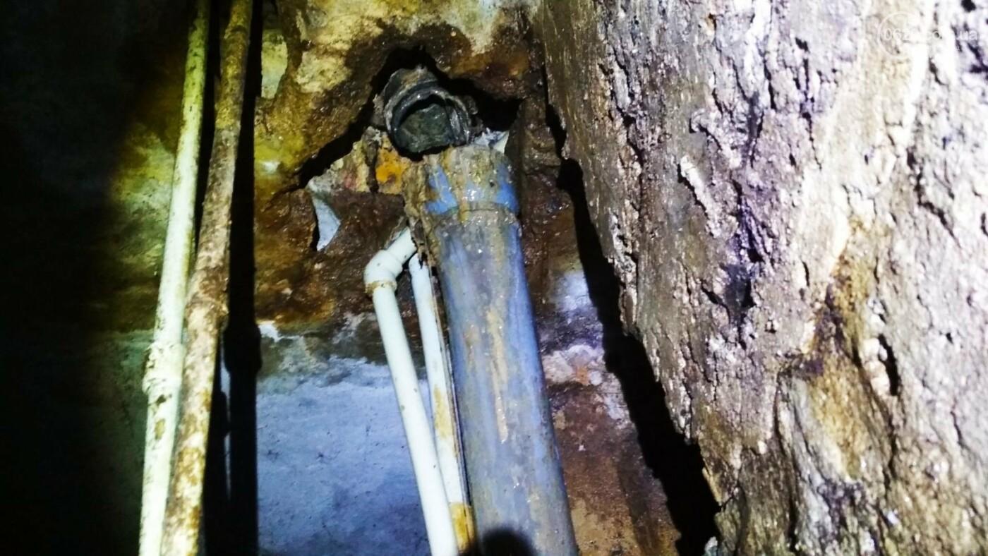 Фекальная проблема: жители многоэтажки в Мариуполе страдают от затопления канализационными стоками, - ФОТО, ВИДЕО, фото-2