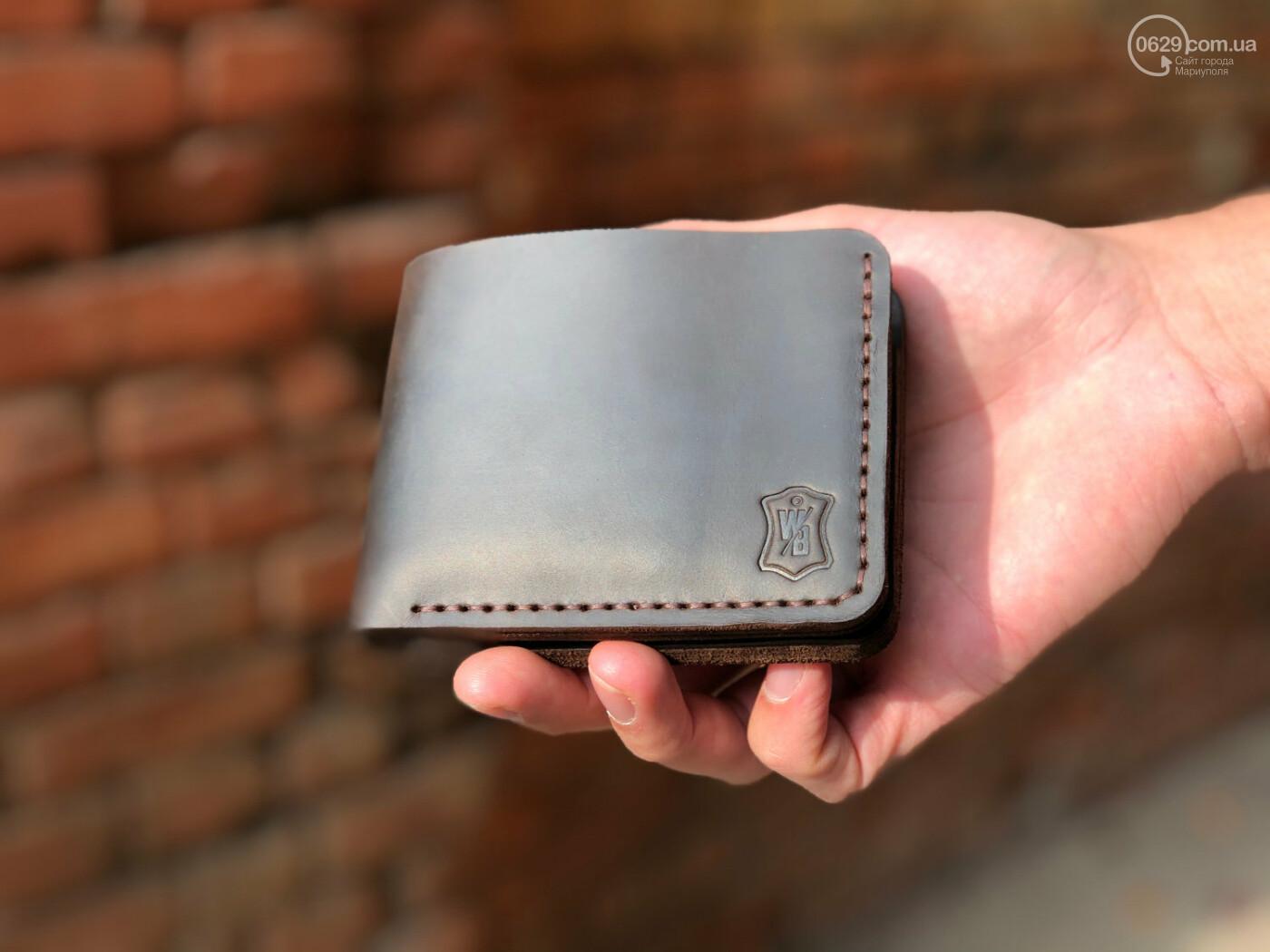 Стильное мужское портмоне для мужчин, которые любят качественные изделия из кожи, фото-1