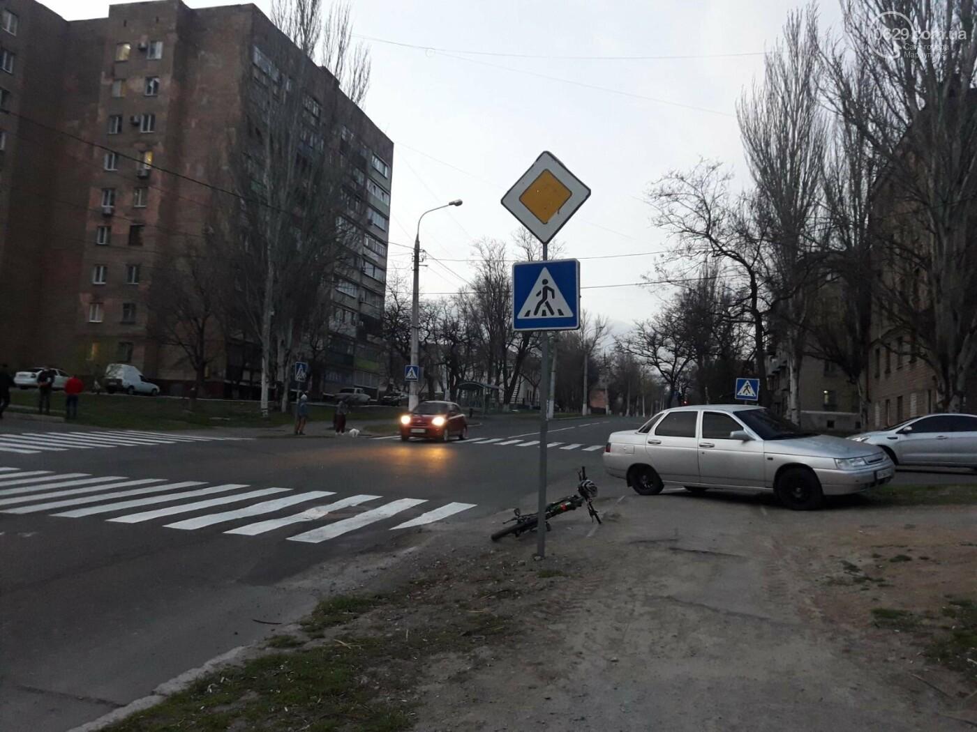 В Мариуполе под колёса авто попал велосипедист, - ФОТО, фото-2