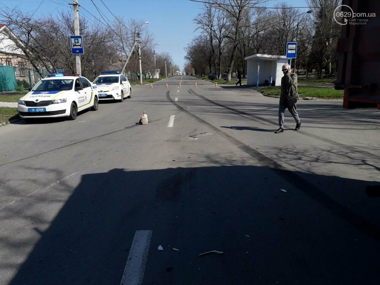 Тройное ДТП с пострадавшими. В Мариуполе столкнулись две легковушки и грузовик,  - ФОТО, фото-8