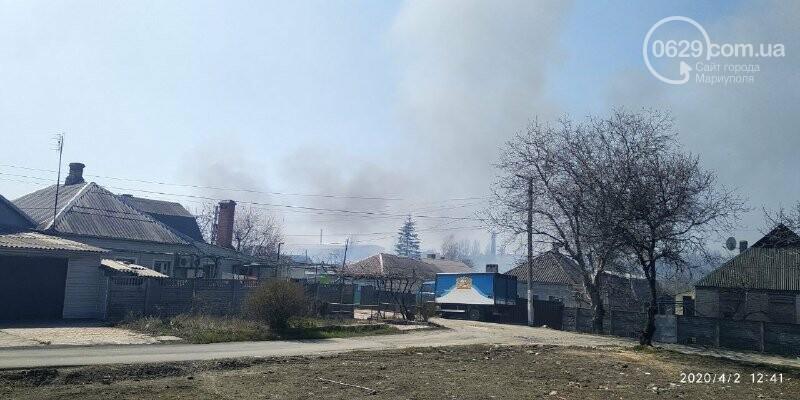 Масштабный пожар: в Зинцевой балке выгорело полгектара камыша , - ФОТО, фото-2